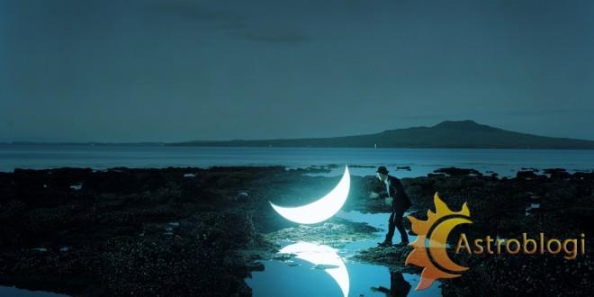 ნათალური მთვარე IX სახლში