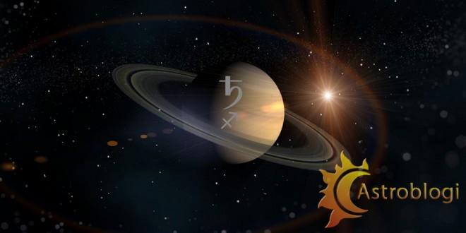სატურნი მშვილდოსანში