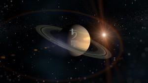 სატურნი ქალწულში