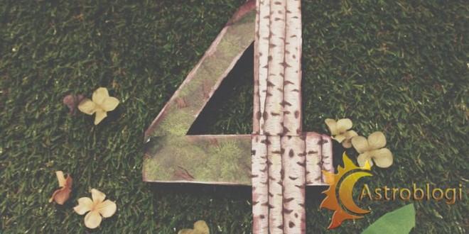 დაბადების რიცხვი – 4