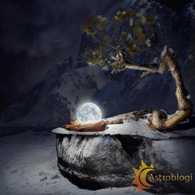 სავსემთვარეობა ან/და მთვარის დაბნელება ჰოროსკოპის სახლებში