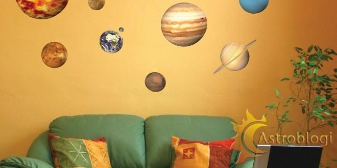პლანეტები სახლებში
