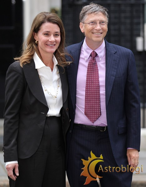 Bill Gates Visits Downing Street