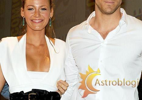 Ryan Reynolds & Blake Lively (scorpio & virgo)