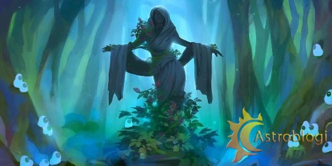 დემონური პერსონაჟები-ტყის დედოფალი (ტყაშმაფა)